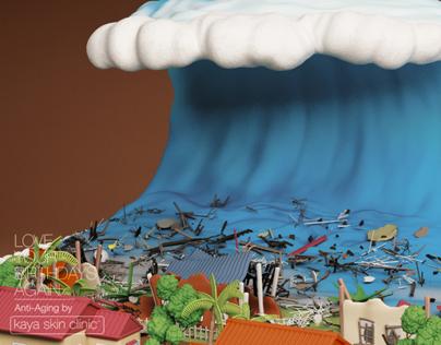 Kaya Skin Clinic - Doomsday Cakes - Tsunami