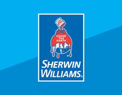 Sherwin williams marketing materials signage and more on behance