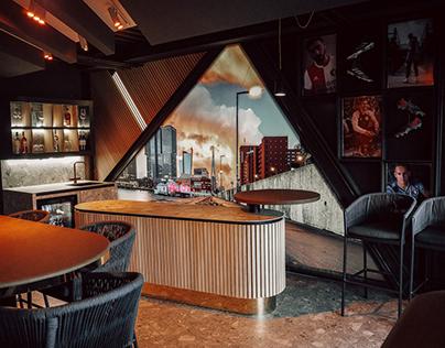 Business box for Adidas, de Kuip Rotterdam (Feyenoord)