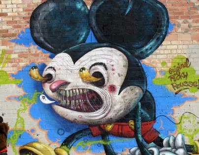 Graffiti walls 2012
