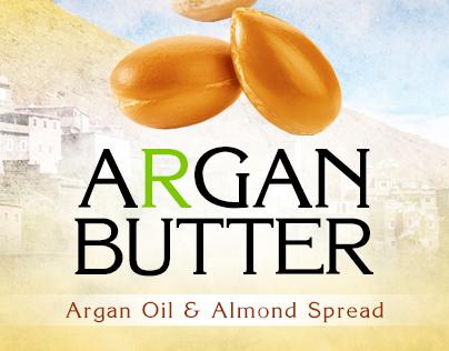 Argan Butter - Product Label