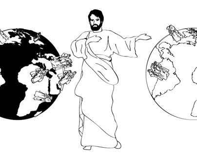 Illustrations for book on Paul