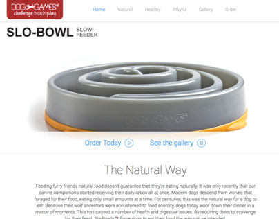 Slo-bowls Landing Page