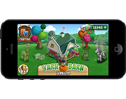 Mobile Crafting - FarmVille