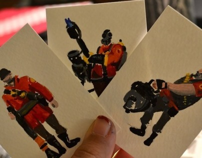 Team Fortress 2 Miniature Paintings