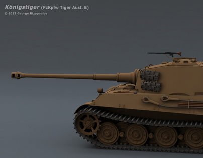 King Tiger (Tiger II) Heavy Tank