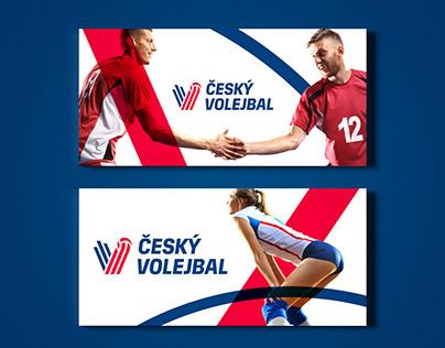 Czech Volleyball – brand identity