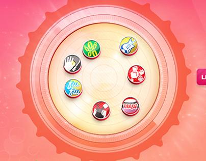 Coca Cola Musical Caps