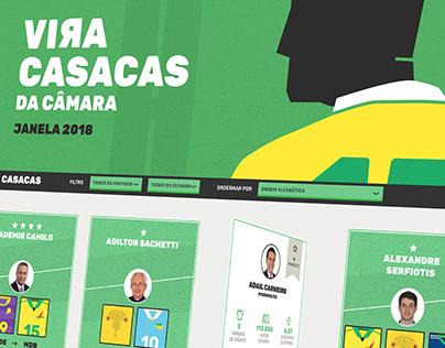 Vira Casacas - Janela 2018