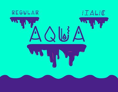 * Aqua Font Type *