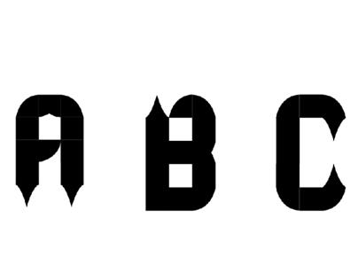 Tipografia Modular - Estridente
