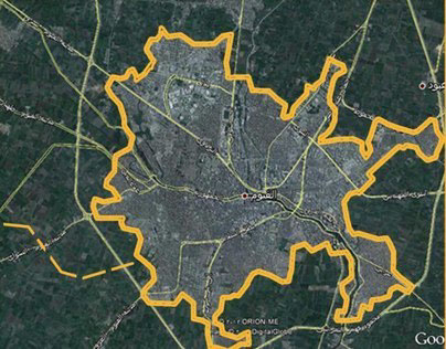 Strategic urban planning for existing districts