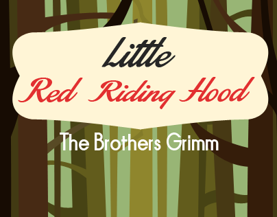 Book Covers for Little Red Riding Hood