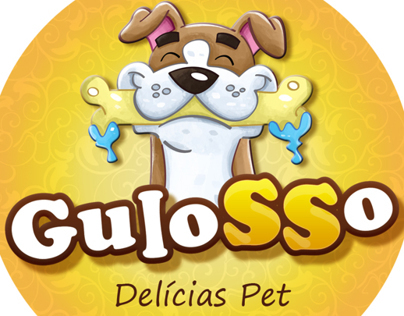 Logotipo e rótulos para produtos da Pet House Brasil