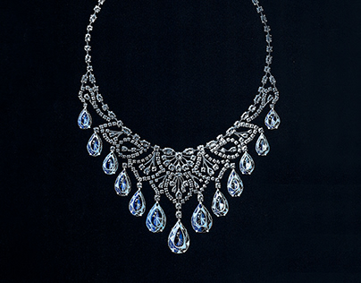 Gouache - High Jewelry Necklace by Harry Winston