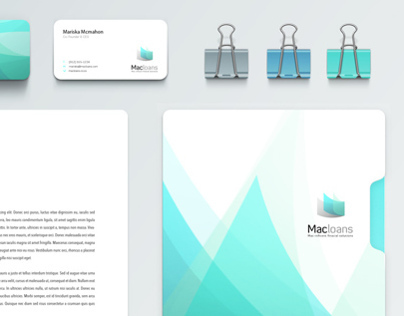 Branding design for Macloans