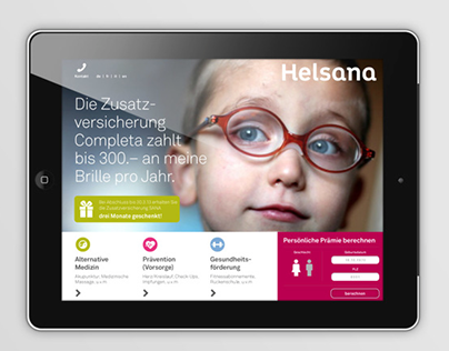 Helsana brand evolution