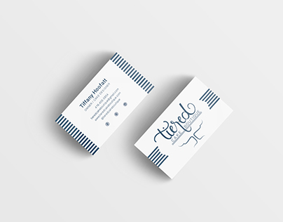 Tiered Cake Boutique Business Cards