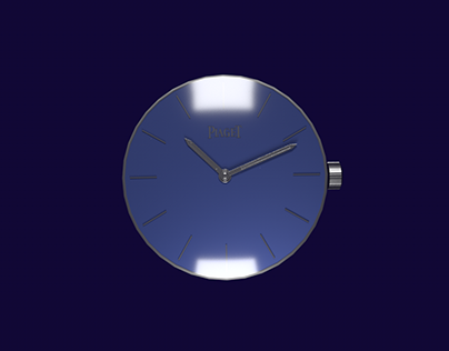 Piaget watch animation