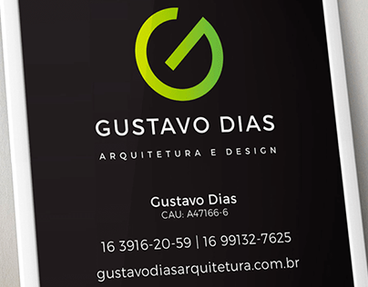 Gustavo Dias - Arquitetura e Design