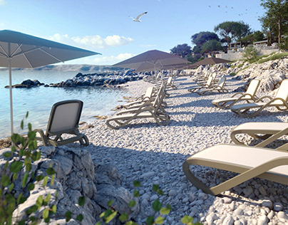 Camping site - beach