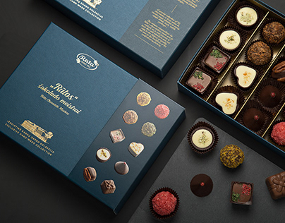 Rūta. Chocolate Masters Collection Package
