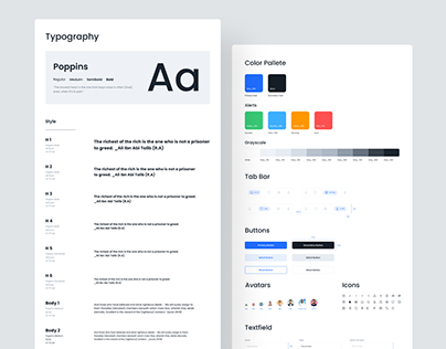 Design System and Components