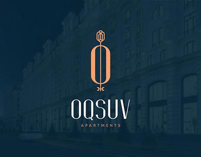 "Logo design for ""Oqsuv"" apartments"