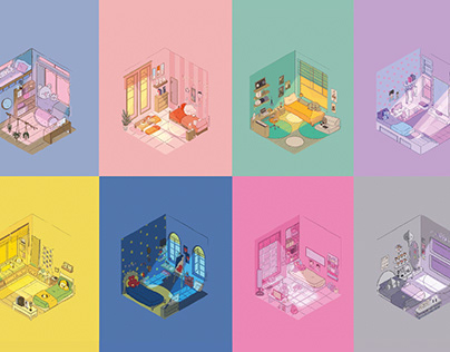 Bt21 Tiny Rooms