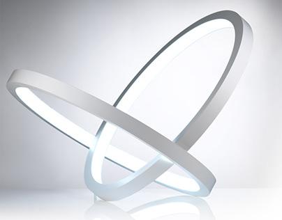 INFINITY - sculptural lamp