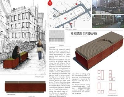 Personal Topography - Urban Furniture