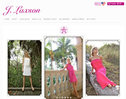 Fashion Online Store - RWD - USA