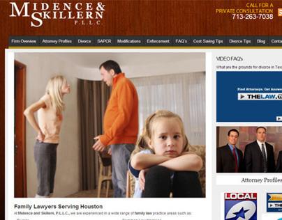 Attorney Website - Houston Tx