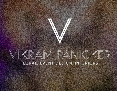 VIKRAM PANICKER - FLORAL. EVENT DESIGN. INTERIORS.