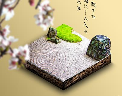 Isometric Zen Garden (concept)