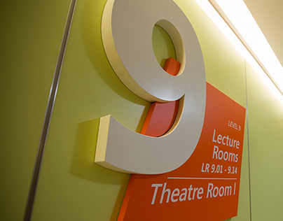 Environmental Graphics for Sentral College