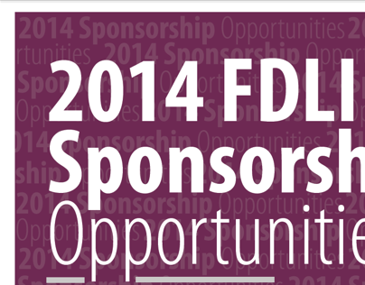 2014 Sponsorship Package