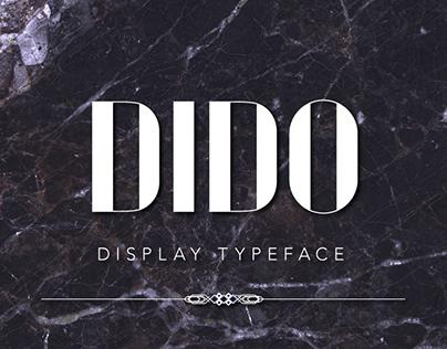 DIDO | display typeface