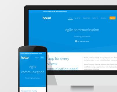 Hoiio - Responsive Website Redesign