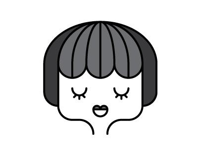 "Goce Mitevski's ""Girls Blink, I Draw"" Illustrations"