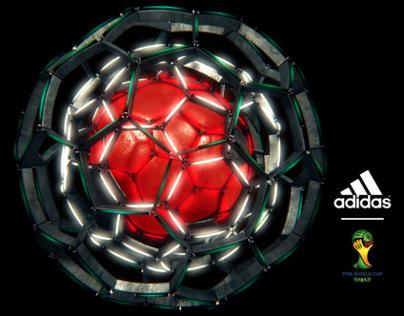 adidas 2014 World Cup  match ball launch animation
