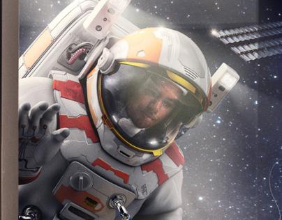 SHRM 2014 Campaign - Astronaut