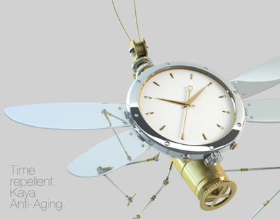 Kaya Anti-Aging - Steampunk Dragonfly