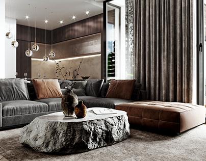 Apartment Interior Design (Kavalier Park Apartments)