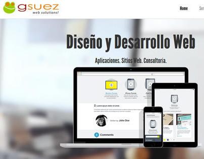 gsuez design new site