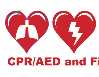 Work project I did for a CPR/AED and first aid class