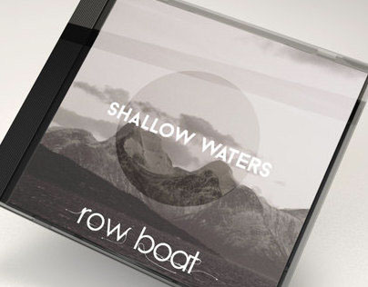 "Cover Art for Row Boat's ""Shallow Waters"""