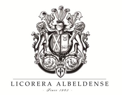 Licorera Albeldense logotype restyling