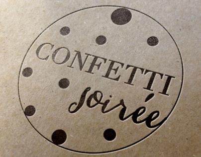 Confetti Soirée Branding
