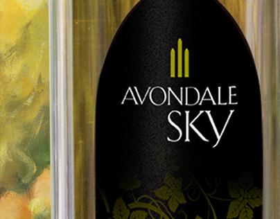 Avondale Sky Winery Branding